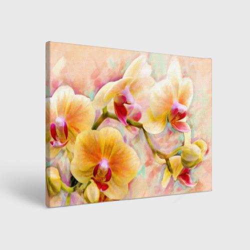 Холст прямоугольный Орхидеи