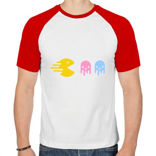 Мужская футболка реглан  Фото 01, Packman