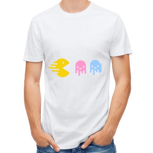 Мужская футболка полусинтетическая  Фото 01, Packman