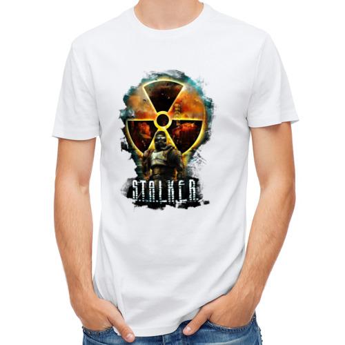 Мужская футболка полусинтетическая  Фото 01, Stalker