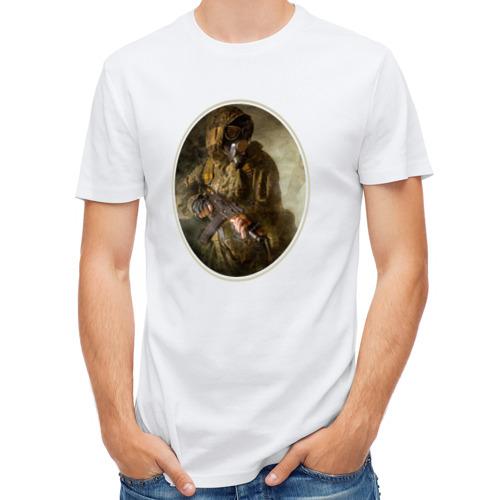 Мужская футболка полусинтетическая  Фото 01, Портрет Сталкера