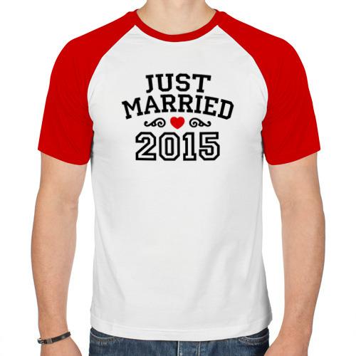 Мужская футболка реглан  Фото 01, Молодожены 2015