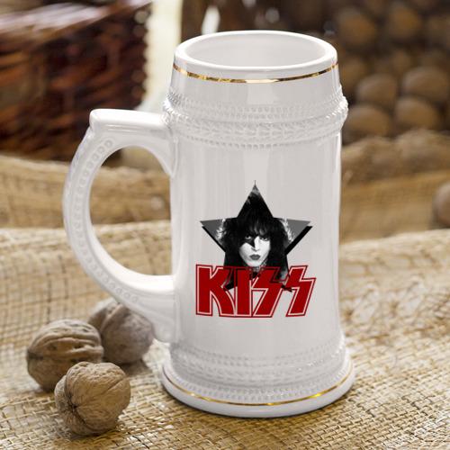 Кружка пивная  Фото 04, Kiss