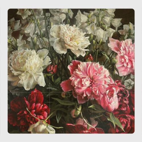Магнитный плакат 3Х3 Цветы
