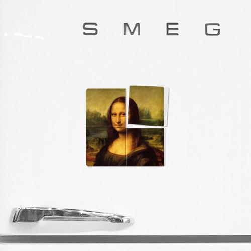Магнитный плакат 2Х2  Фото 02, Мона Лиза