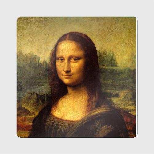 Магнит виниловый Квадрат Мона Лиза