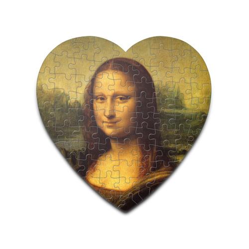 Пазл сердце 75 элементов  Фото 01, Мона Лиза
