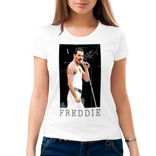 Женская футболка хлопок 'Freddie'
