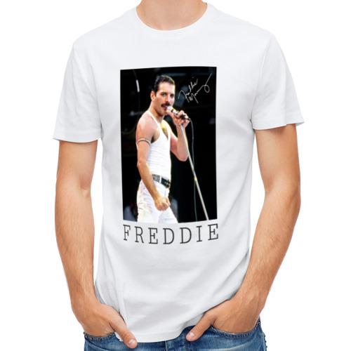 Мужская футболка полусинтетическая  Фото 01, Freddie