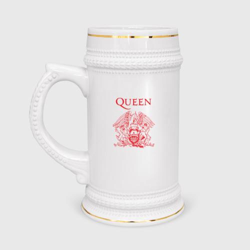 Кружка пивная  Фото 01, Queen