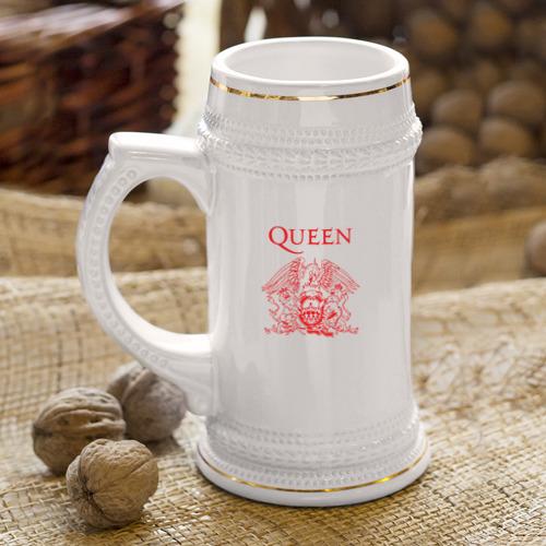Кружка пивная  Фото 04, Queen