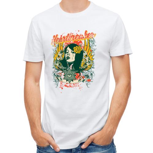 Мужская футболка полусинтетическая  Фото 01, heartbreaker