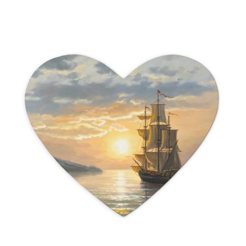 Коврик для мыши сердце  Фото 01, Корабль