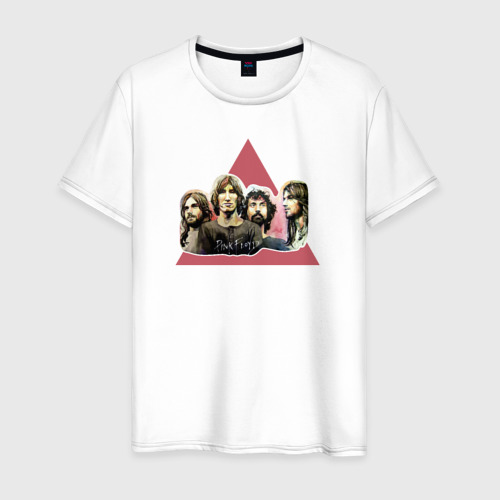 Мужская футболка хлопок Pink Floyd portrait Фото 01