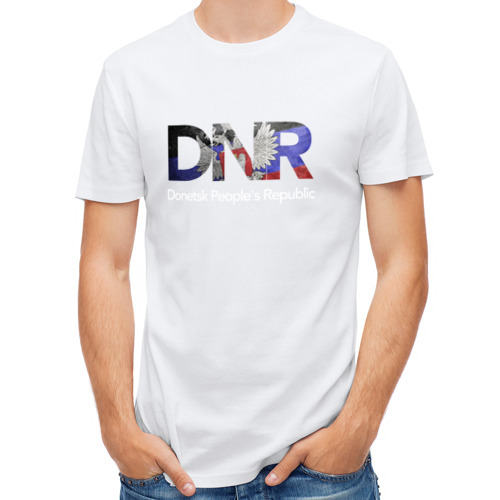Мужская футболка полусинтетическая  Фото 01, ДНР