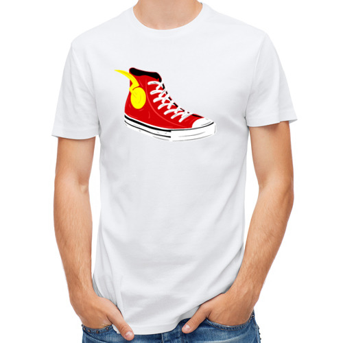 Мужская футболка полусинтетическая  Фото 01, Super Sneakers