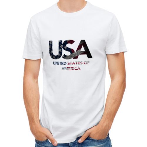 Мужская футболка полусинтетическая  Фото 01, USA