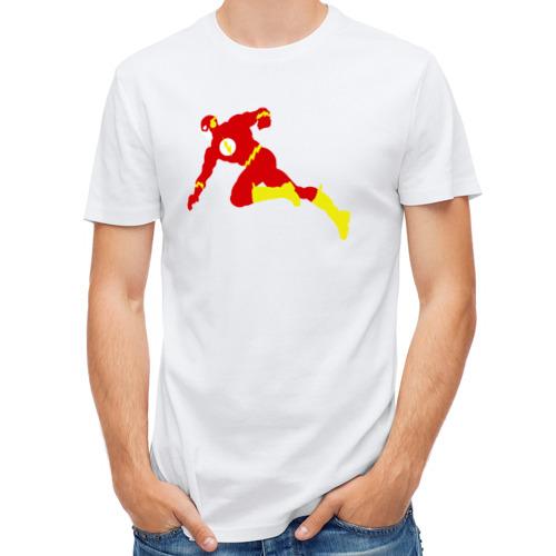 Мужская футболка полусинтетическая  Фото 01, Flash