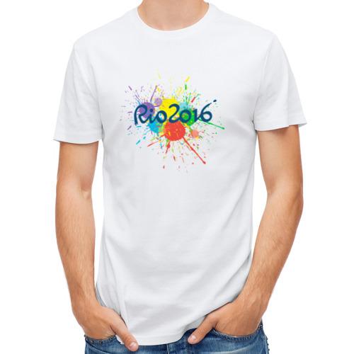 Мужская футболка полусинтетическая  Фото 01, Rio 2016