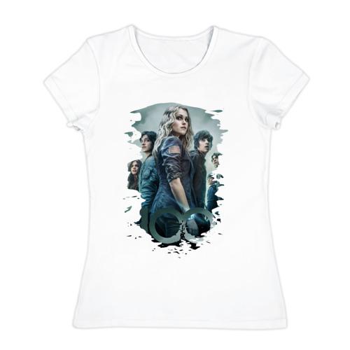 Женская футболка хлопок  Фото 01, Сотня