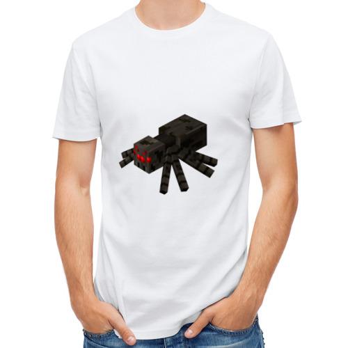 Мужская футболка полусинтетическая  Фото 01, Паук