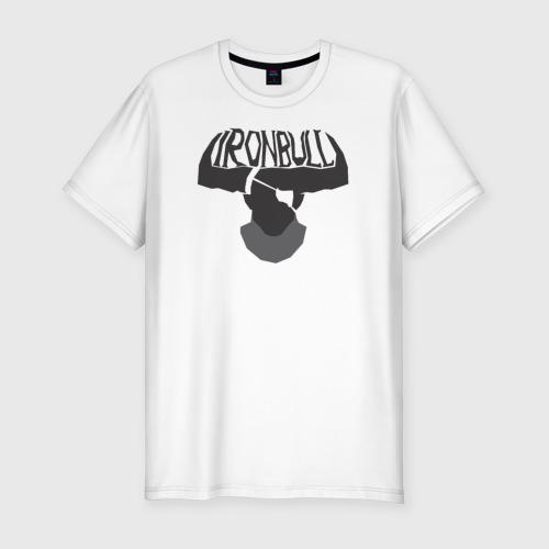 Мужская футболка премиум  Фото 01, Железный Бык