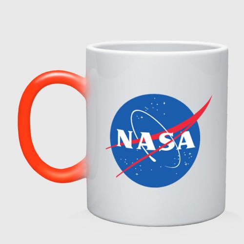 Кружка хамелеон NASA