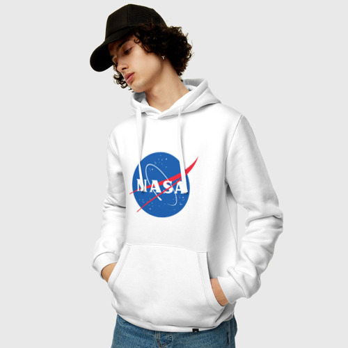 Мужская толстовка хлопок NASA