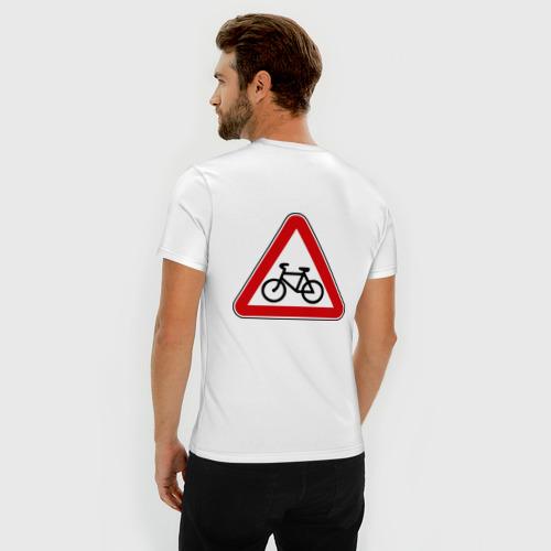 Мужская футболка премиум Велосипедист