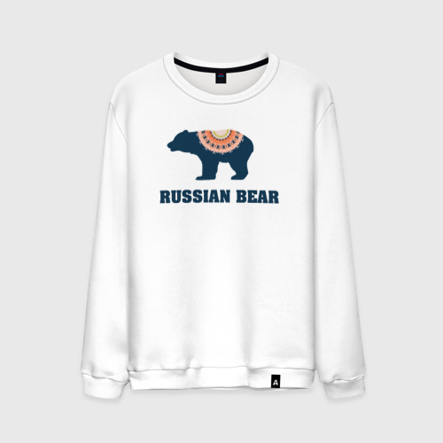 Мужской свитшот хлопок  Фото 01, Русский медведь