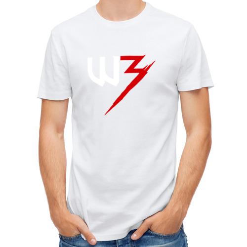 Мужская футболка полусинтетическая  Фото 01, Witcher 3
