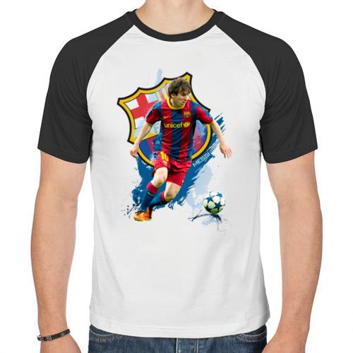 Мужская футболка реглан  Фото 01, Messi