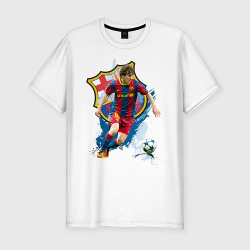 Мужская футболка премиум  Фото 01, Messi