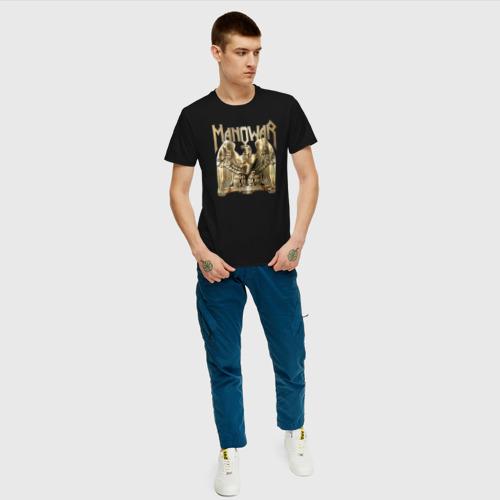 Мужская футболка хлопок Manowar Фото 01