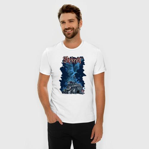 Мужская футболка премиум  Фото 03, Slipknot