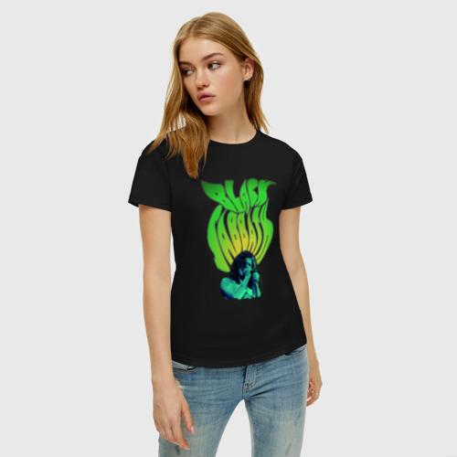 Женская футболка хлопок Black Sabbath Фото 01