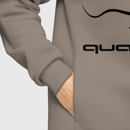 Мужское худи Oversize хлопок Audi quattro Фото 01