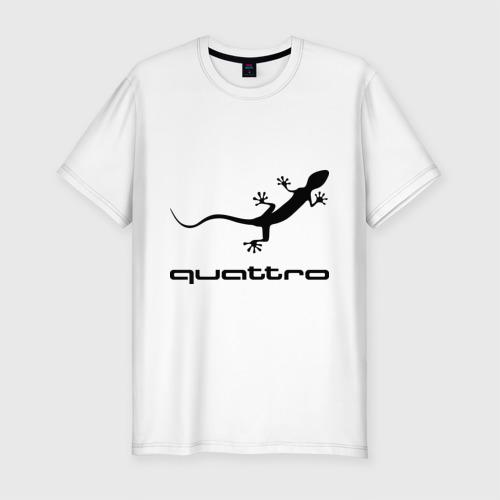 Мужская футболка премиум  Фото 01, Audi quattro
