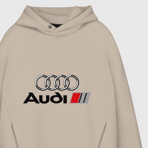 Мужское худи Oversize хлопок Audi Фото 01