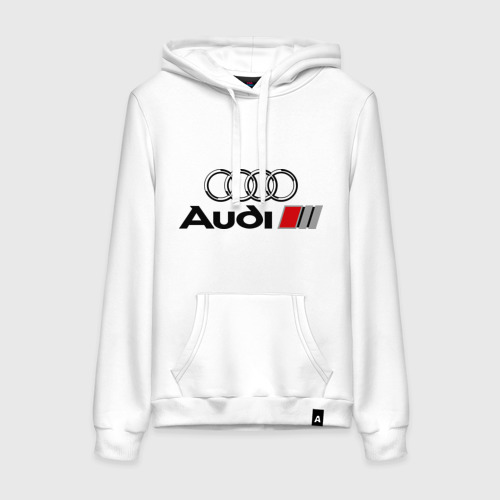 Женская толстовка хлопок Audi