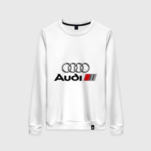 Женский свитшот хлопок Audi Фото 01