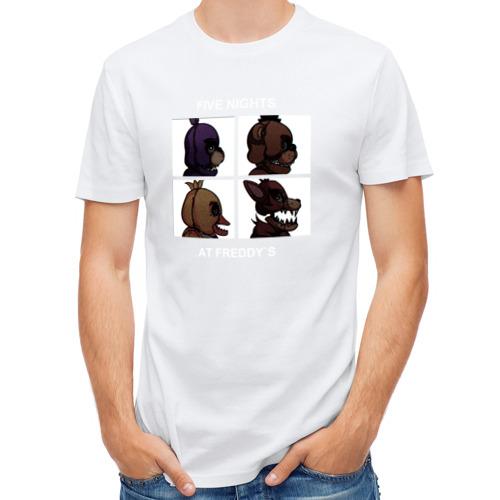 Мужская футболка полусинтетическая  Фото 01, Five Nights at Freddy`s