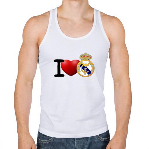 Мужская майка борцовка  Фото 01, Love Real Madrid