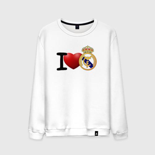 Мужской свитшот хлопок Love Real Madrid
