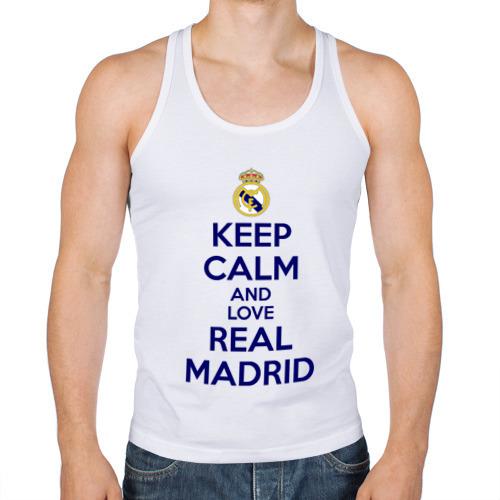 Мужская майка борцовка  Фото 01, Real Madrid