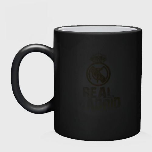 Кружка хамелеон Real Madrid Фото 01
