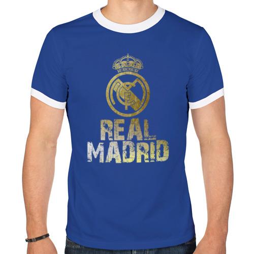 "Мужская футболка-рингер ""Real Madrid"" - 1"