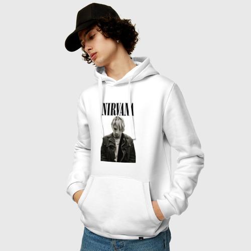 Мужская толстовка хлопок  Фото 03, nirvana t-shirt