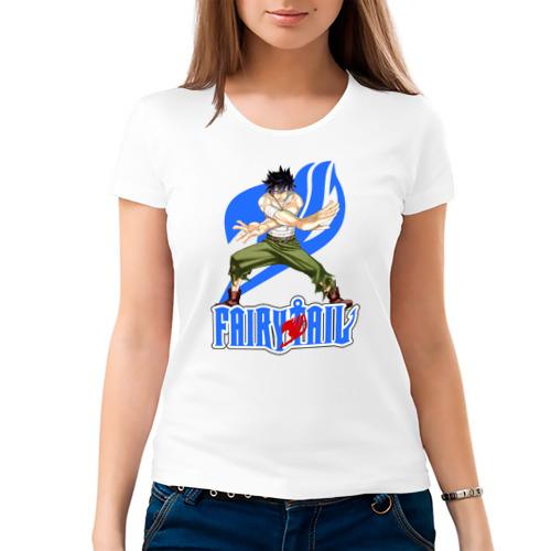 Женская футболка хлопок  Фото 03, FairyTail Gray