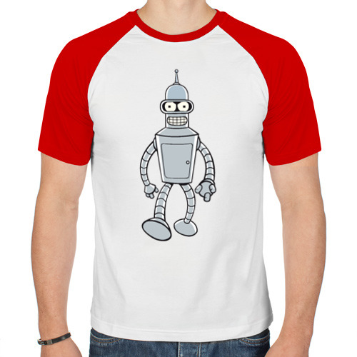 Мужская футболка реглан  Фото 01, BENDER (color)